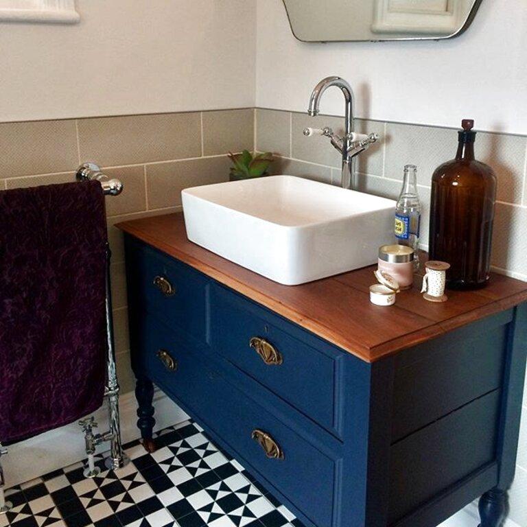 Second hand Bathroom Vintage Vanity Unit in Ireland