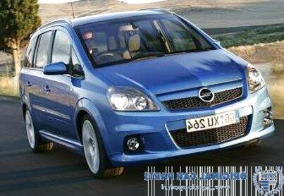 zafira opc bumper for sale