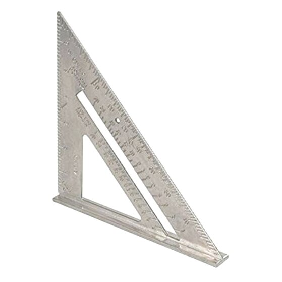 """METAL ROOFING RAFTER SET SQUARE 300mm x150mm 6/"""" SPEED SQUARE ALLOY RAFTER GUIDE"""