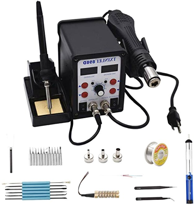 Replacement Earlywish Soldering Iron for SMD Rework Soldering Station 852D