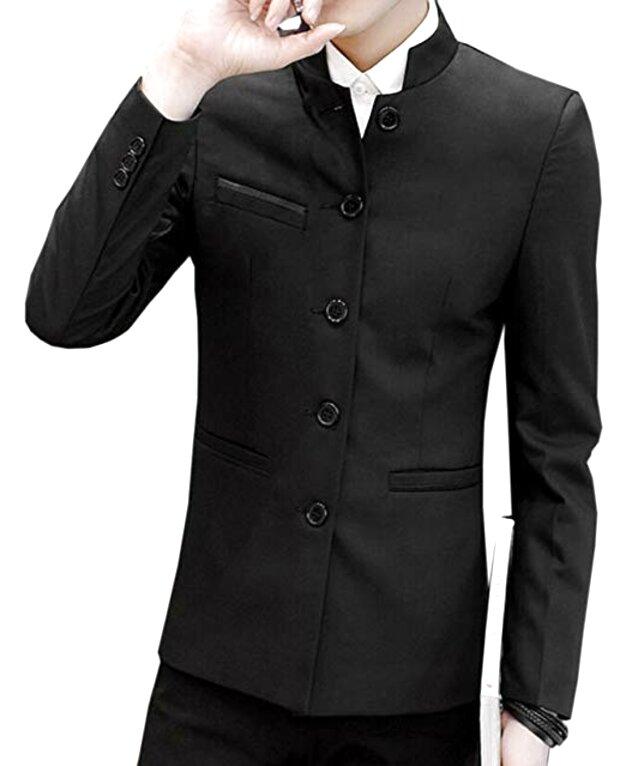 mandarin collar jacket for sale