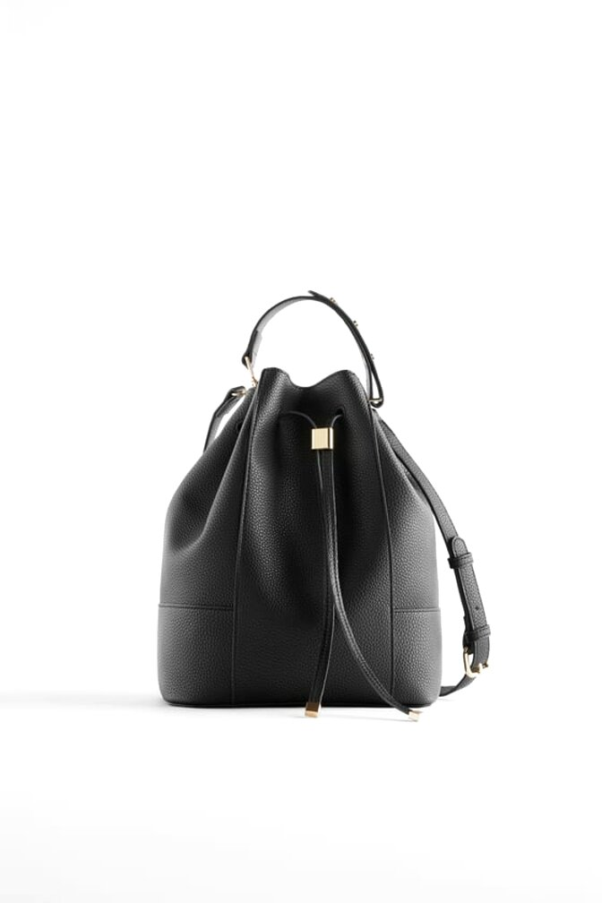 zara bucket bag for sale