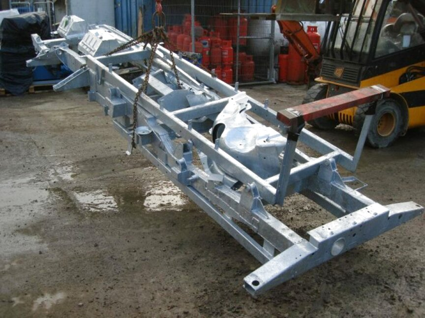 galvanised chassis for sale
