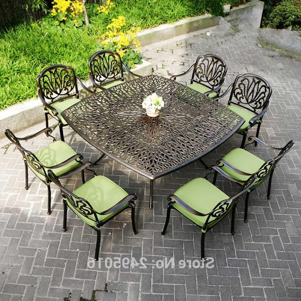 Second hand Cast Garden Furniture in Ireland