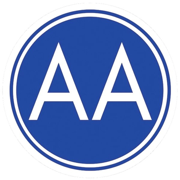 aa sign for sale