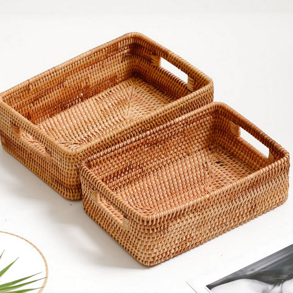 l wicker baskets handles for sale