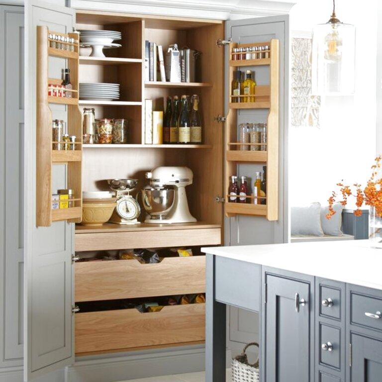 Second Hand Larder Unit In Ireland 55, Tall Kitchen Cabinets Ireland