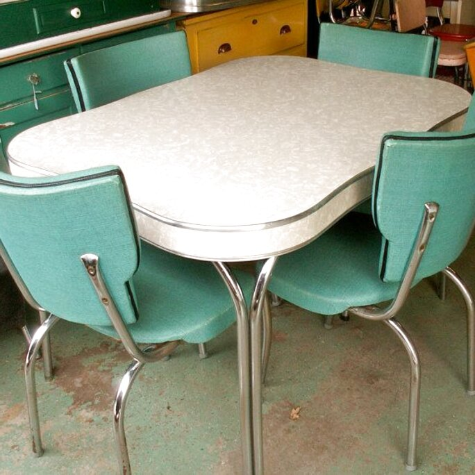 Second Hand Vintage Formica Kitchen Table In Ireland