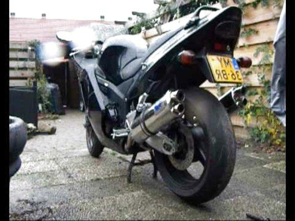 Exhaust Danmoto XG-1 Honda CBR 1100 XX X11 X 11 Blackbird CBR1100XX 1100XX EX446