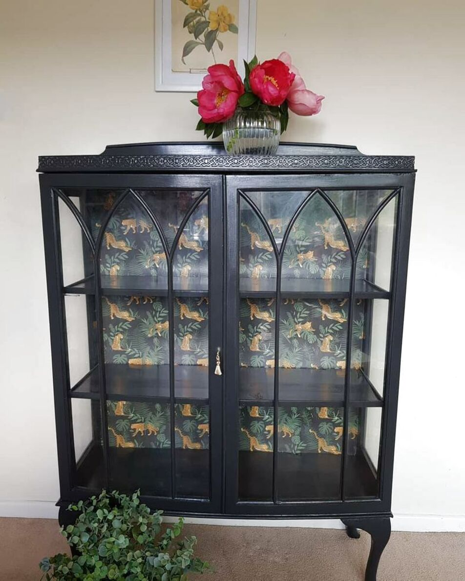 Second hand Vintage Glass Cabinet in Ireland