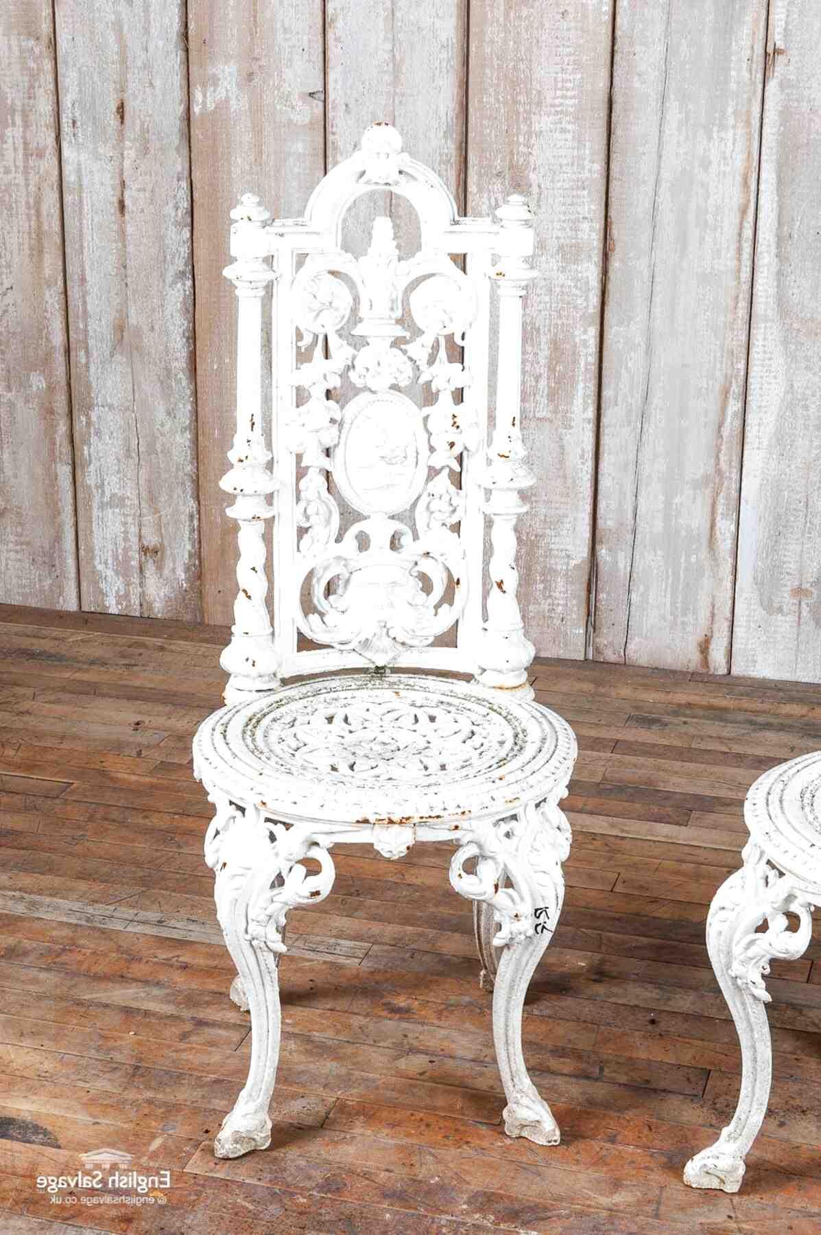 Second hand Cast Iron Garden Furniture in Ireland