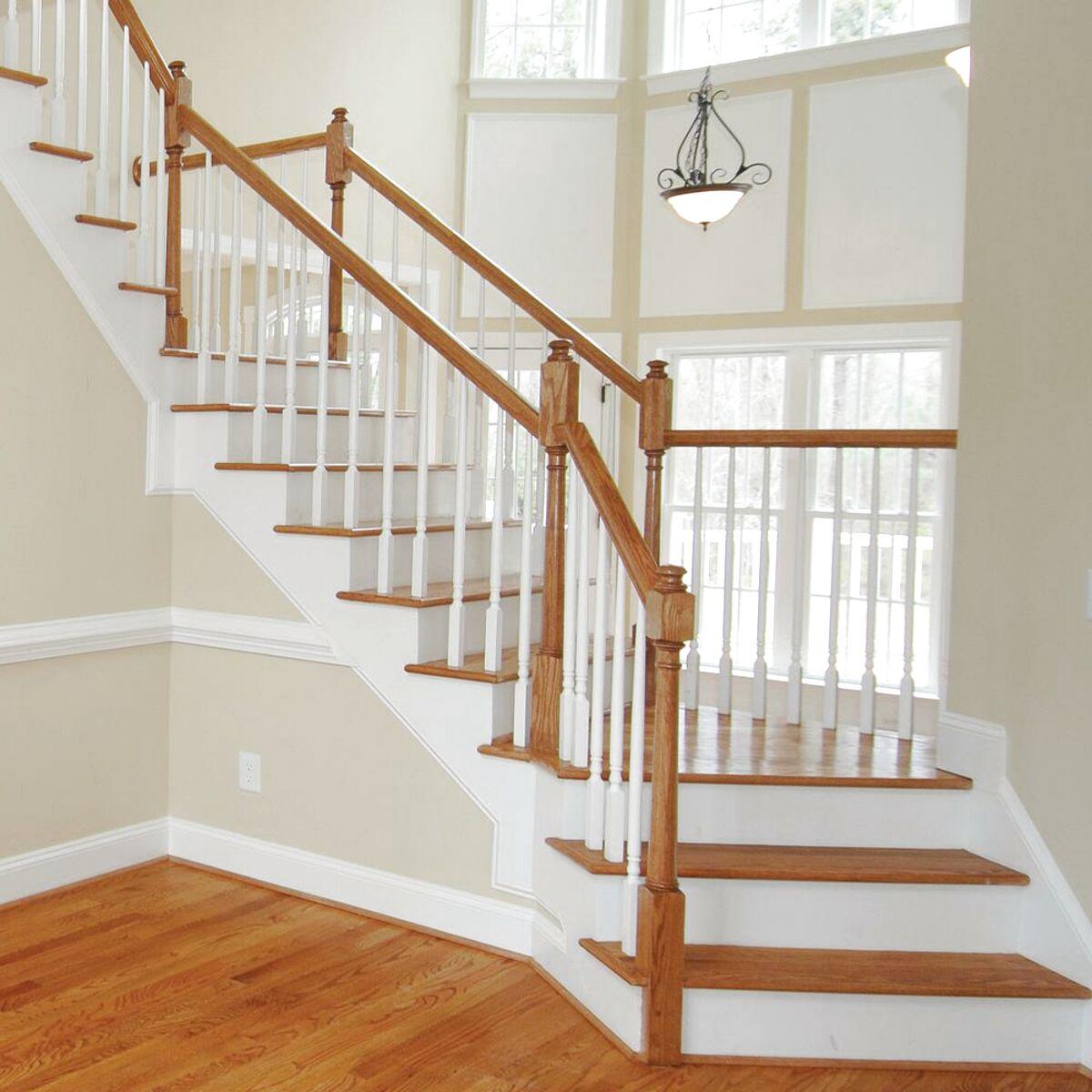 oak stair handrail for sale