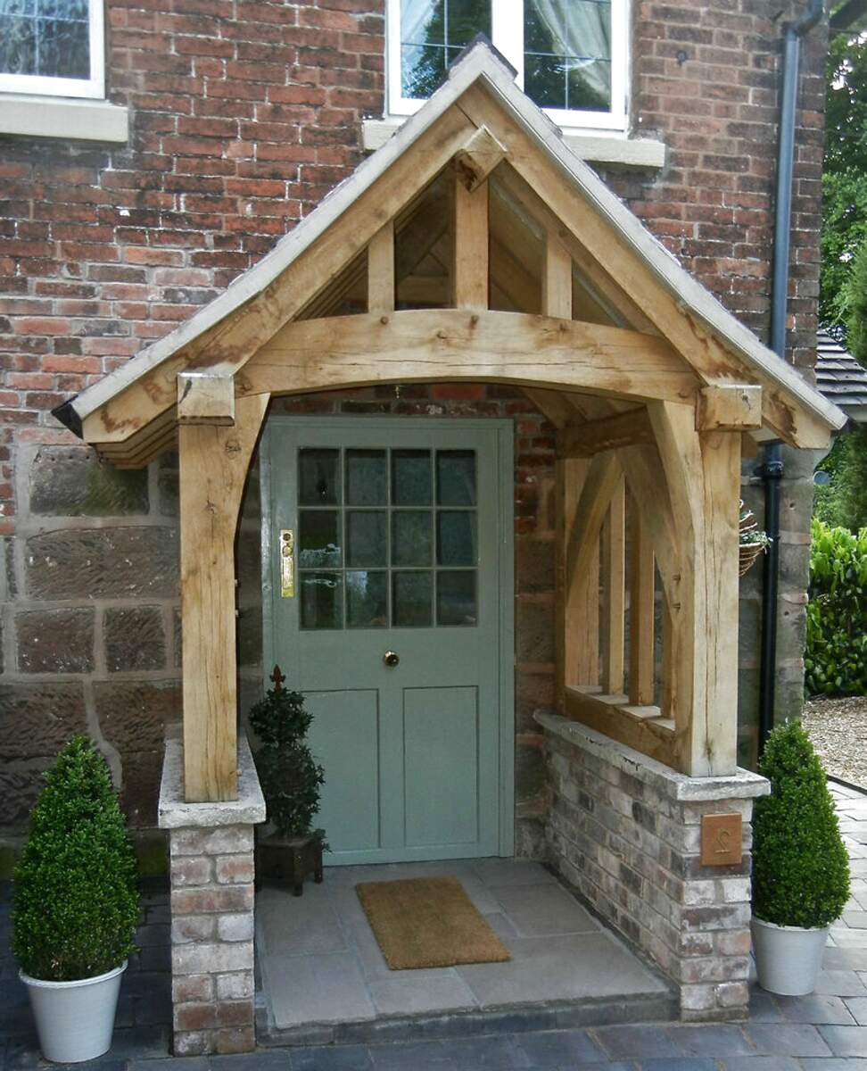 oak porch for sale