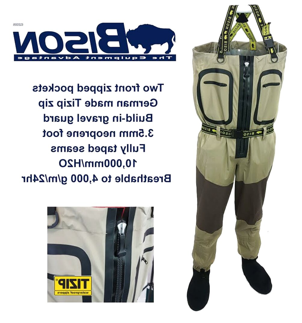 bison waders for sale